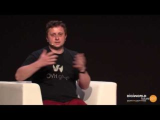 DigiWorld Future Paris 2017 –  Octave Klaba, OVH